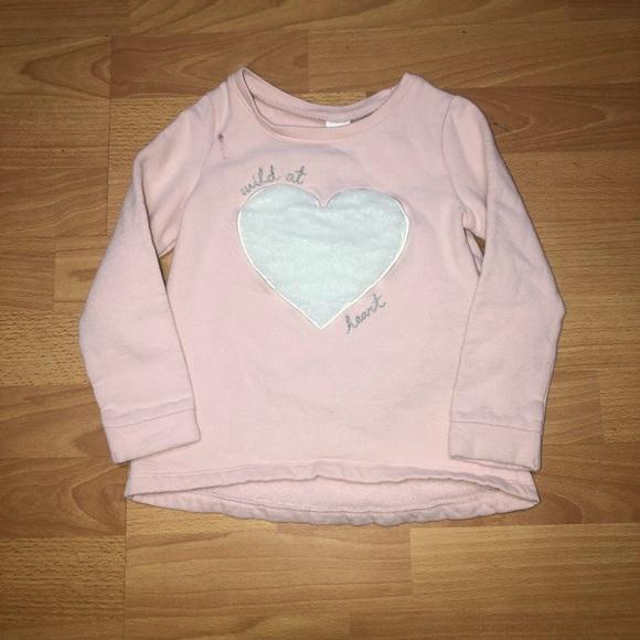 Carter's Other - 3/$15 Toddler heart sweater